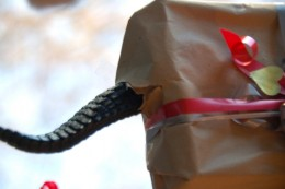 Some things isnt ment to be wrapped in package.  Wrapped boxes may in due course become to small for the wrapped content.