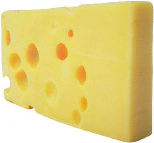 Sometimes we cant see the cheese! We only see the holes in the cheese!