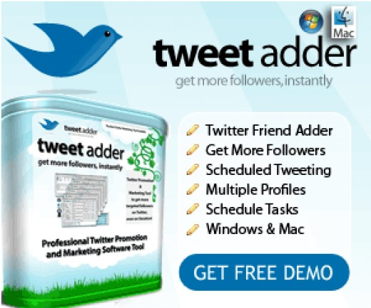 Tweet Adder Twitter Internet Marketing