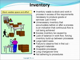 Reduce Inventory to Increase Profits