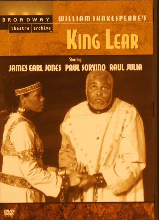 James Earl Jones - literally frothing at the mouth at times - conveys the physical power and mental frailty of Lear. I wouldn't go so far as to say he's uniformly brilliant, some of the moments seem affected, but the scene where he rages against his