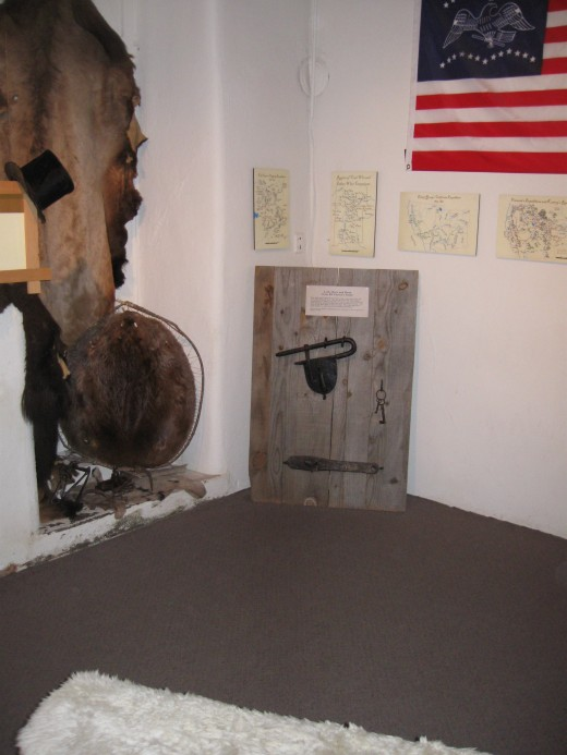 Interior of Kit Carson's Home in Taos, NM