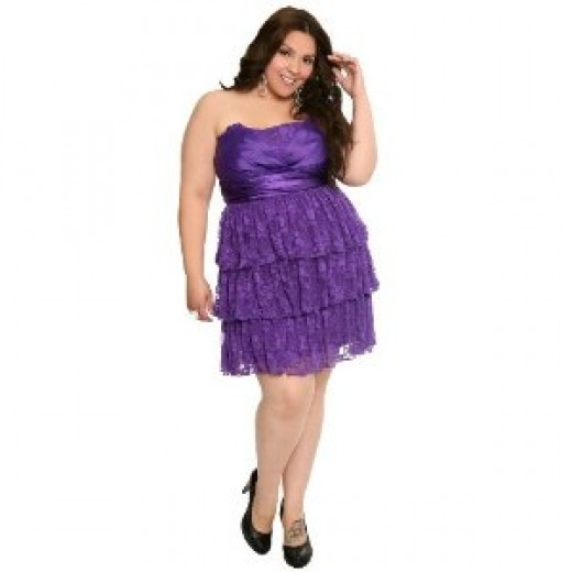 PLUS-SIZE Formal Dresses, Formalwear and Evening gowns @ Plus-size