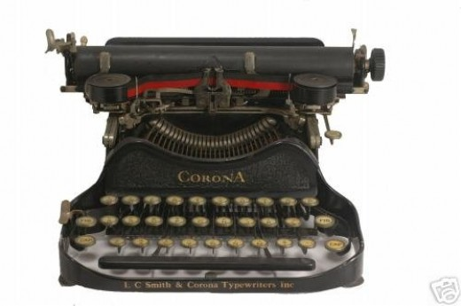 Typewriters had no Bold or Italics Font