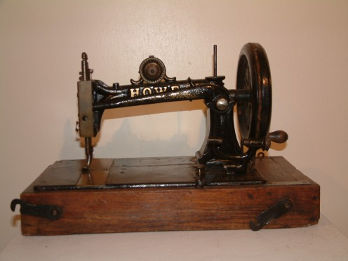 Sewing machine Howe, 1885