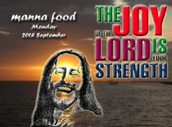 Manna food for Monday September 20th