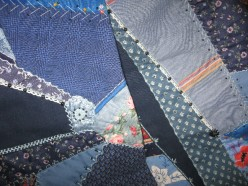 Crazy Quilting: Not Really Crazy