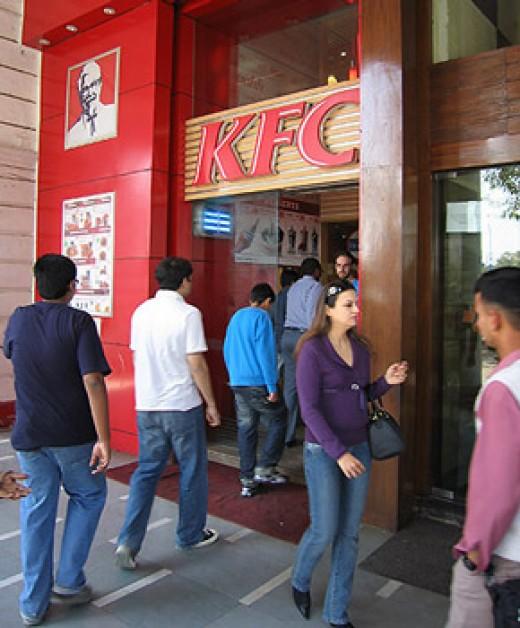 KFC in CP