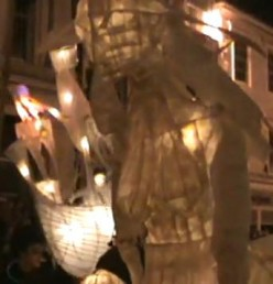 City of Lights Procession - Truro Cornwall