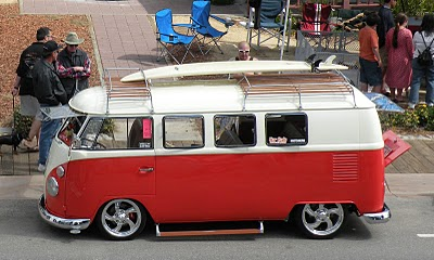 Cool VW Bus at the Temecula Rod Run.