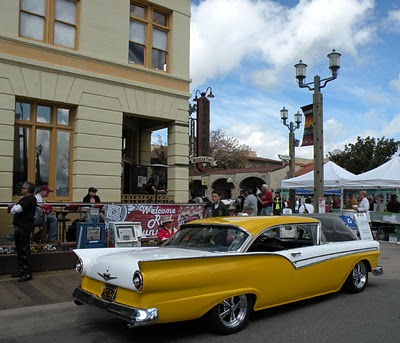 Classic Old Town Temecula is the perfect backdrop for the vintage cars in the Rod Run.