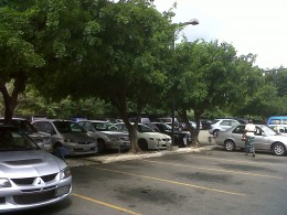 Car Park at ICWI.