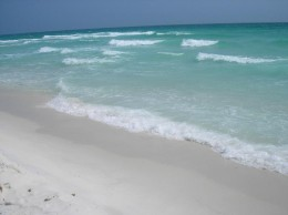 Destin's pristine, emerald green water only compliments its plush, soft sandy beaches. Destin's beach has the whitest sands in all of America. They are drop dead gorgeous!