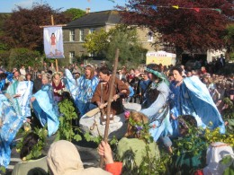 Hal an Tow, Coinage Street, Helston Flora Day Photo by: Rod Allday