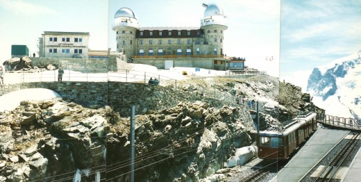 Also the location of an International Foundation High Altitude Research Station *  (pieced together from 3 photos)