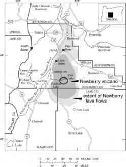 Public domain photo - Newberry Volcano
