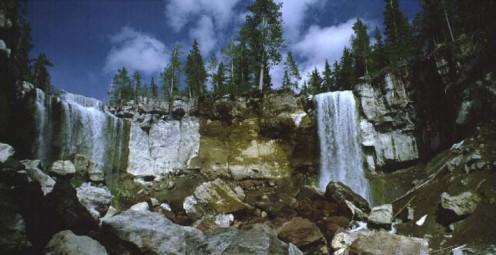Public domain image - Paulina Creek Falls