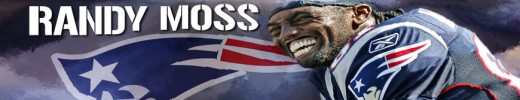 Randy Moss wider receiver New England Patriots