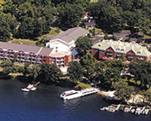 Heidel House aerial view