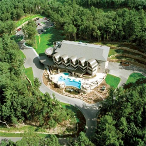 Aerial view of Sundara Inn Wisconsin