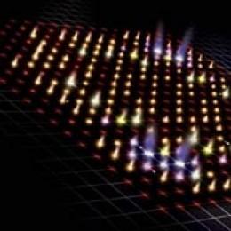 A graphic representation of the two-photon quantum walk.