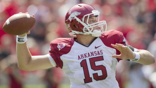 QB Ryan Mallett Arkansas