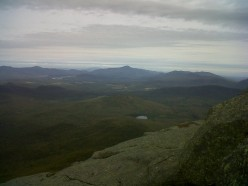 Hiking in the High Peaks Region of the Adirondacks in Upstate New York Is One of Many Popular Places for Backpacking