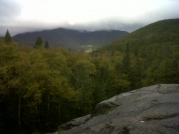 View from the edge of Indian Falls