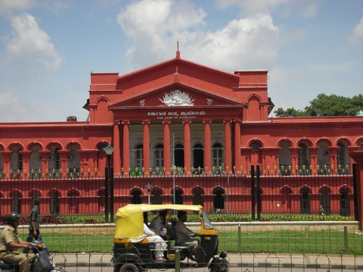 Attara Kacheri or high Court in Cubbon Park
