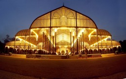 Illuminated Lal Bagh Glass House