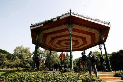 Band Stand in Lal Bagh