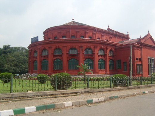 Sheshadri Iyer Memorial Hall Or City Central Library in Cubbon Park