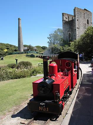 Lappa Valley Steam Railway, Newquay, Cornwall.  A popular visitor attraction.