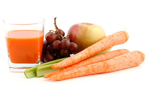 Mix Fruit and Veggie Juice menshealth.com