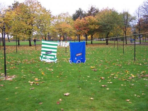 Rangers and celtic top meet again at the Glasgow Green