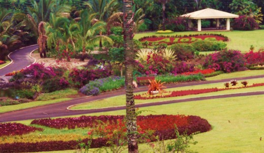 Nani Mau Gardens on Big Island of Hawaii