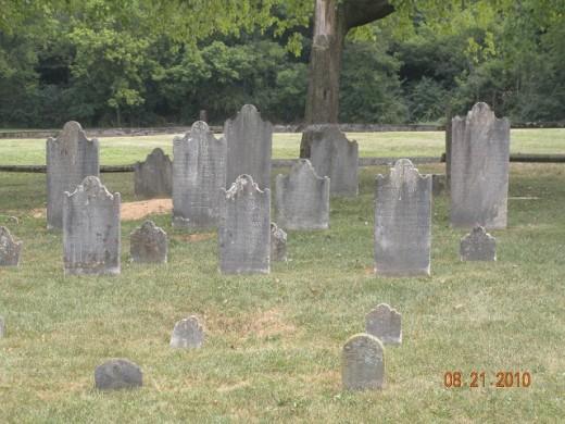 Gravestones, Deppen Cemetery