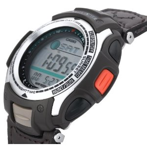 Pathfinder Moon Phase Hunting Timer Watch side view