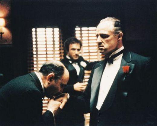 Marlon Brando is The Godfather
