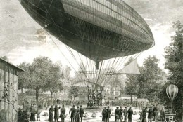 The dirigible was an adaptation of the hot air balloon and employed the use of light gases such as hydrogen and helium. Early internal combustion engines allowed for powered flight.
