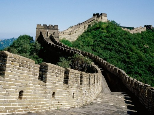 Great Wall of China, from angkorwatnow.blogspot.com