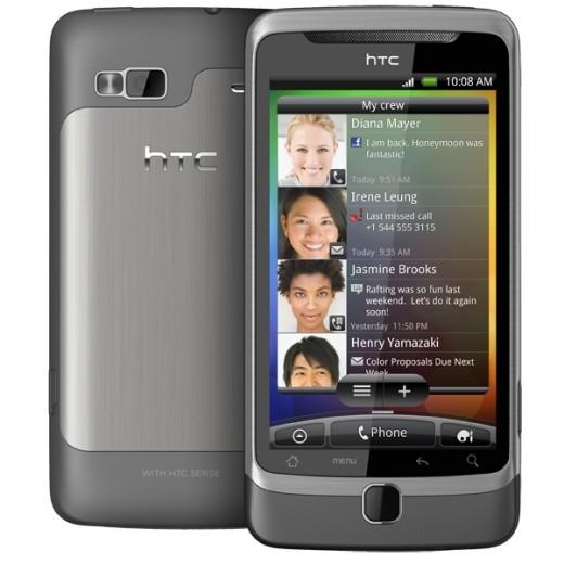 HTC Desire Z closed