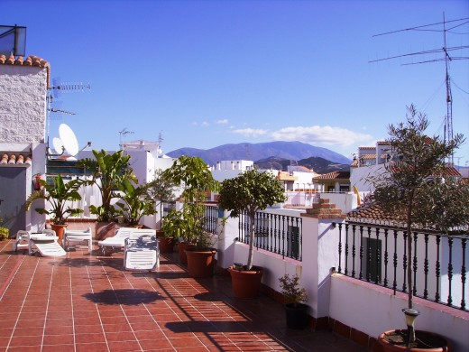 The roof terrace is paradise for sun-lovers