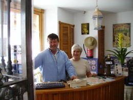 French Jean-Pierre & his Spanish wife Maria Carmen