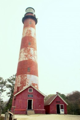 A photo of the Assateague Lighthouse from my last trip to Assateague Island in 2010.