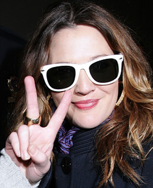 drew barrymore fakes