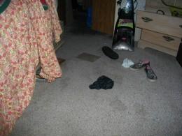 gotta see the floor to walk thru