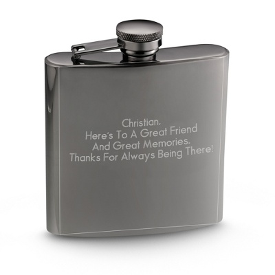 A personalized, engraved flask by Things Remembered