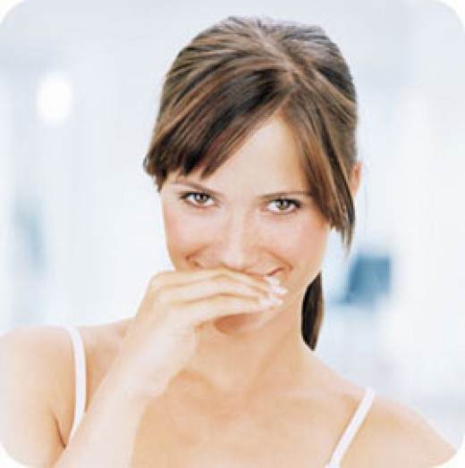 Bad breath can be embrassing