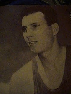 Carlos (Caloy) Loyzaga, the Big Difference. Mythical Five Member as he carried the Philippine Team bring home the Bronze Medal in the 1954 FIBA Championships.